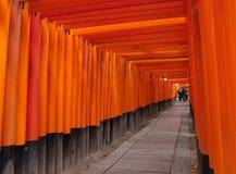 Santuário de Fushimi Inari Foto de Stock Royalty Free