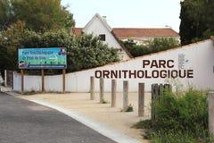 Santuário de pássaro de Pont de Gau, Camargue, França Fotografia de Stock