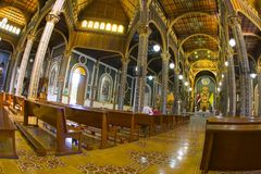 Santurio Nacional in Cartago, Costa Rica Immagine Stock Libera da Diritti
