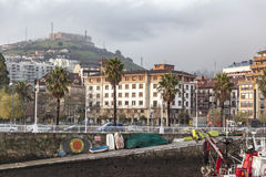 Santurtzi, βασκική χώρα, Ισπανία στοκ φωτογραφίες με δικαίωμα ελεύθερης χρήσης