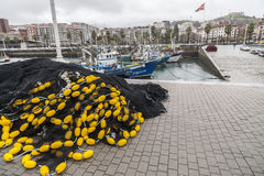Santurtzi, país Basque, Espanha fotos de stock