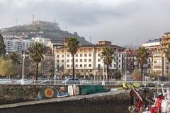 Santurtzi, país Basque, Espanha fotos de stock royalty free