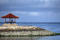 Sanur beach Stock Photography