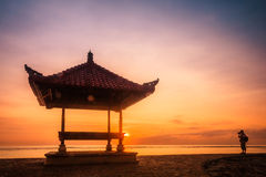 Sanur beach at Bali, Indonesia Stock Image