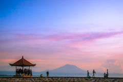 Sanur beach at Bali, Indonesia Stock Images