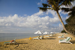 sanur na plaży zdjęcie stock