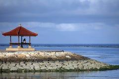 sanur na plaży Fotografia Stock