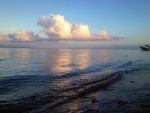 Sanur strand Royaltyfria Bilder