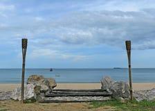 Sanur-Strand, Bali, Indonesien stockfoto