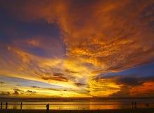 sanur wschód słońca Zdjęcie Stock