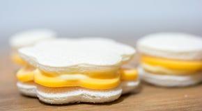 Sanwiches med ost Fotografering för Bildbyråer