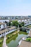 Sanxianbrug (Brug die drie provincies met elkaar verbinden) royalty-vrije stock foto's