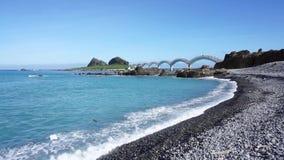 Sanxiantai Dragon Bridge lager videofilmer