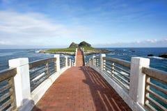 Sanxiantai Dragon Bridge stock photos