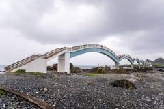 Sanxiantai ist im Norden von Chenggong-Gemeinde in Taitung County es compsed von den küstennahen Inseln und von den Korallenriffe lizenzfreie stockbilder