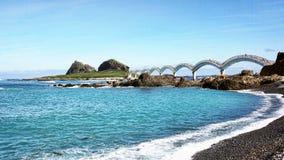 Sanxiantai smoka most zdjęcie royalty free