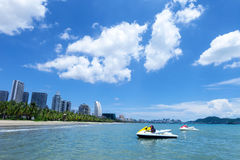 Sanya Bay ,Hainan Island,China Stock Images