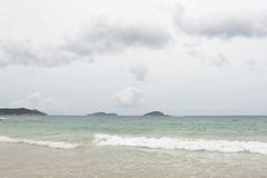 Sanya: beach at yalong bay Royalty Free Stock Photo