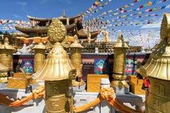 "Sanya, China †""30 September, 2017: Guanyintempel Royalty-vrije Stock Afbeeldingen"