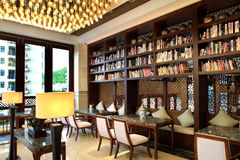 Sanya, China sea court hotel four seasons Royalty Free Stock Photos