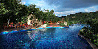Sanya, das tropische Paradies Forest Park Lizenzfreie Stockfotografie