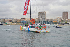 Sanya A Famous Volvo Ocean Race Competitor Stock Image