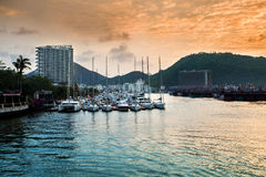 Sanya Hainan scenery Royalty Free Stock Images