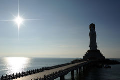 Парк будизма, зона туризма Sanya nanshan культурная Стоковая Фотография RF