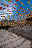 Sanya Nanshan Buddhist tempel Jinyu Guanyin Royaltyfri Foto