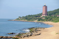 Sanya nanshan cultural tourism zone Royalty Free Stock Images
