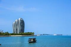 Sanya Phoenix wyspy Super Gwiazdowi hotele Obraz Royalty Free