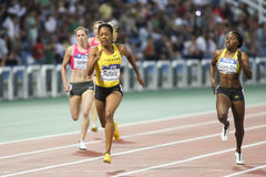 Sanya Richards-Ross, william-Mills and Sanders Stock Images