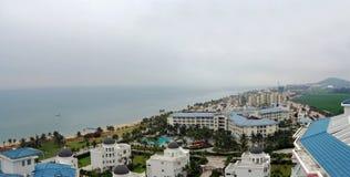 Sanya seafront on the island of hainan Stock Photography