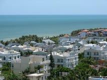 Sanya-Stadt auf Hainan-Insel Stockfotos