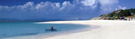 Sanya-wuzhizhou Insel in China lizenzfreies stockfoto