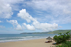 Sanya Yalong Bay Beach Stock Image