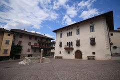 Sanzeno - Trentino Images libres de droits