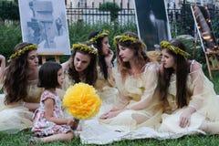 Sanziene festival Royalty Free Stock Photos