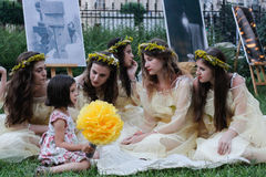 Sanziene festiwal Zdjęcia Royalty Free