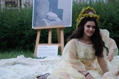 Sanzienefestival stock afbeeldingen