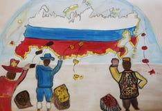 Sanzione, Russia, Turchia Immagini Stock