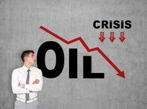 Sanzioni dell'olio Immagine Stock