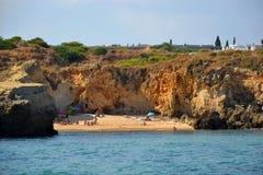 Sao Рафаэль пляжа стоковое изображение rf