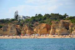 Sao Рафаэль пляжа стоковые фотографии rf