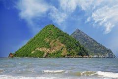 sao Таиланд nom островов острова груди женский Стоковые Фотографии RF