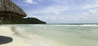 Sao Beach - Phu Quoc Vietnam Royalty Free Stock Photo