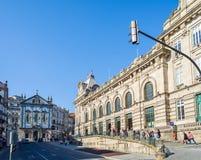 Sao Bento-Bahnstation in Porto, Portugal Lizenzfreie Stockbilder
