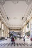Sao bento railway station landmark interior in porto portugal Stock Photos