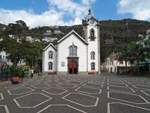 Sao Bento Church. Ribeira Brava, Madeira Portugal October 4, 2008 The Church of St.Benedict (Igreija de São Bento), in the village of Riberia Brava, Madeira Royalty Free Stock Photos