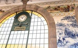 Sao Bento Clock Royalty Free Stock Photos